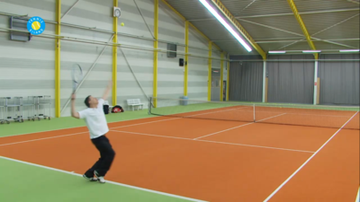 Tennis eiland tennisles in hd video jouw gratis online tennistrainer - Service hoog ...